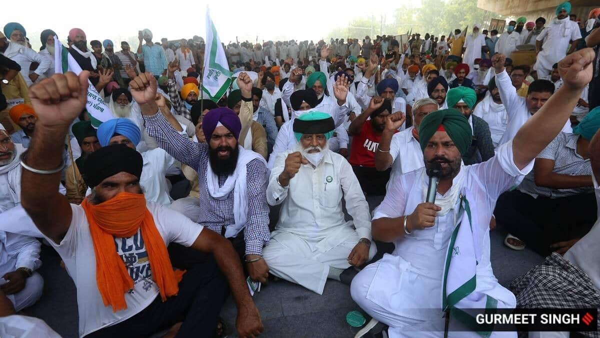 Farmers protests, Farm bills protests, BJP's virtual kisan meets, BJP';s virual meet farmers, Punjab news, India news, Indian express