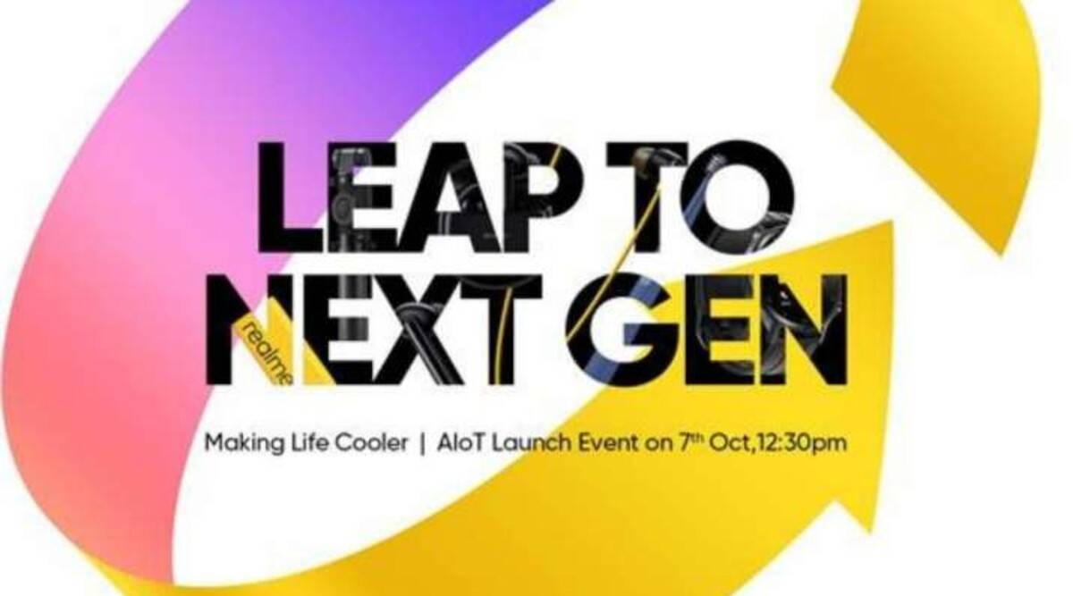 Realme, Realme Leap to Next Gen event, Realme Smart Cam 360-degrees, Realme Buds Wireless Pro, Realme Buds Air Pro, Realme 100W Soundbar, Realme SLED 4K TV, Realme 7i, Realme launch event