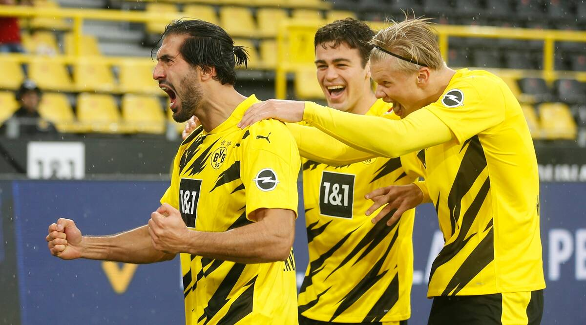 Gio Reyna Shines In Sancho s Absence Erling Haaland Double For Dortmund Sports News The Indian Express