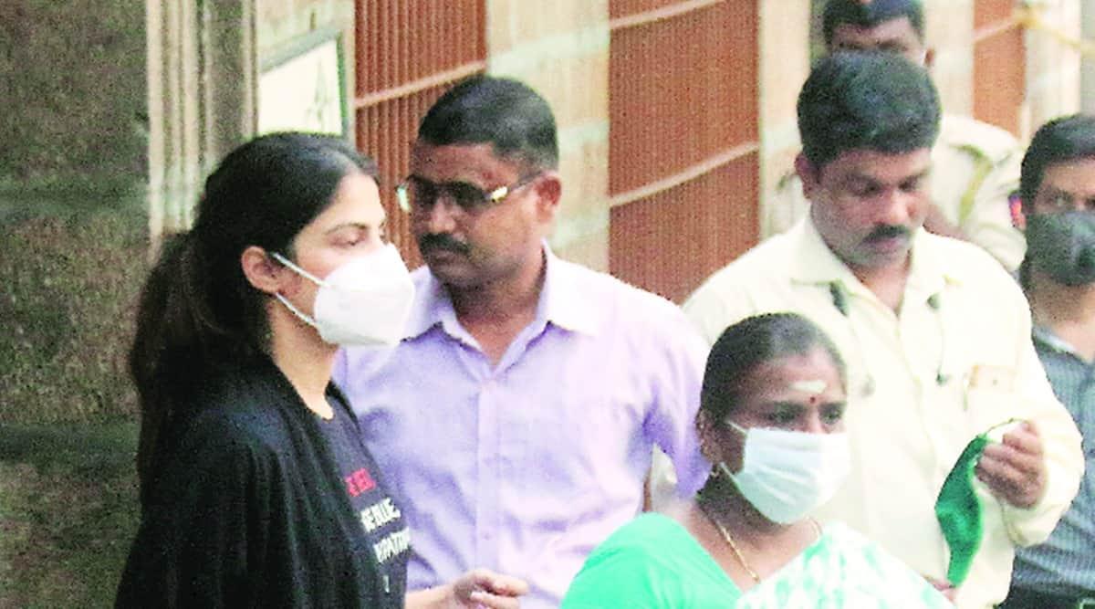 Rhea Chakraborty, Rhea Chakraborty drug case, Rhea Chakraborty FIR, Rhea Chakraborty case arrests, sushant singh rajput, sushant singh rajput drugs case, mumbai city news