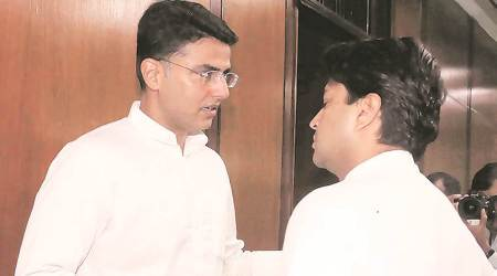 MP bypolls: Pilot takes on Chouhan's 'backdoor entry' after being 'sent home'