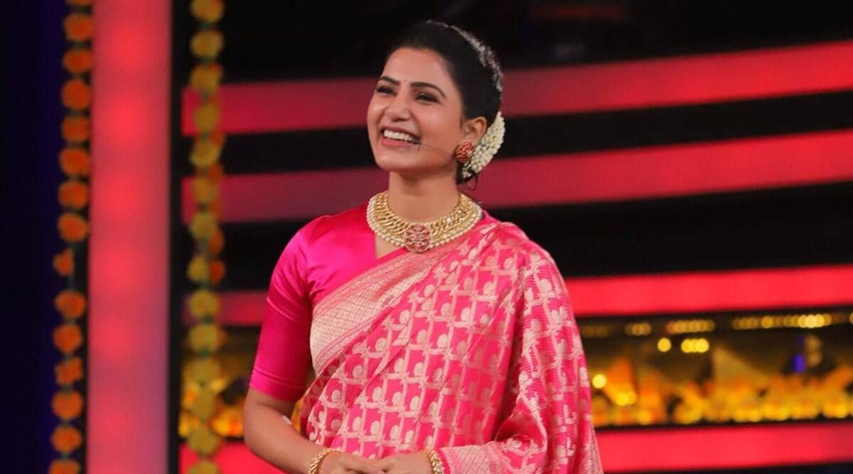 Samantha in Bigg Boss Telugu 4