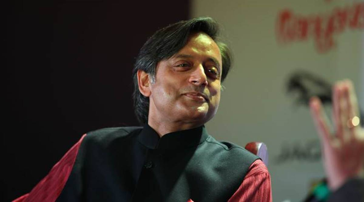 Shashi Tharoor, Symbiosis International University, Symbiosis International University literary Festival, elgaar parishad case, indian express news
