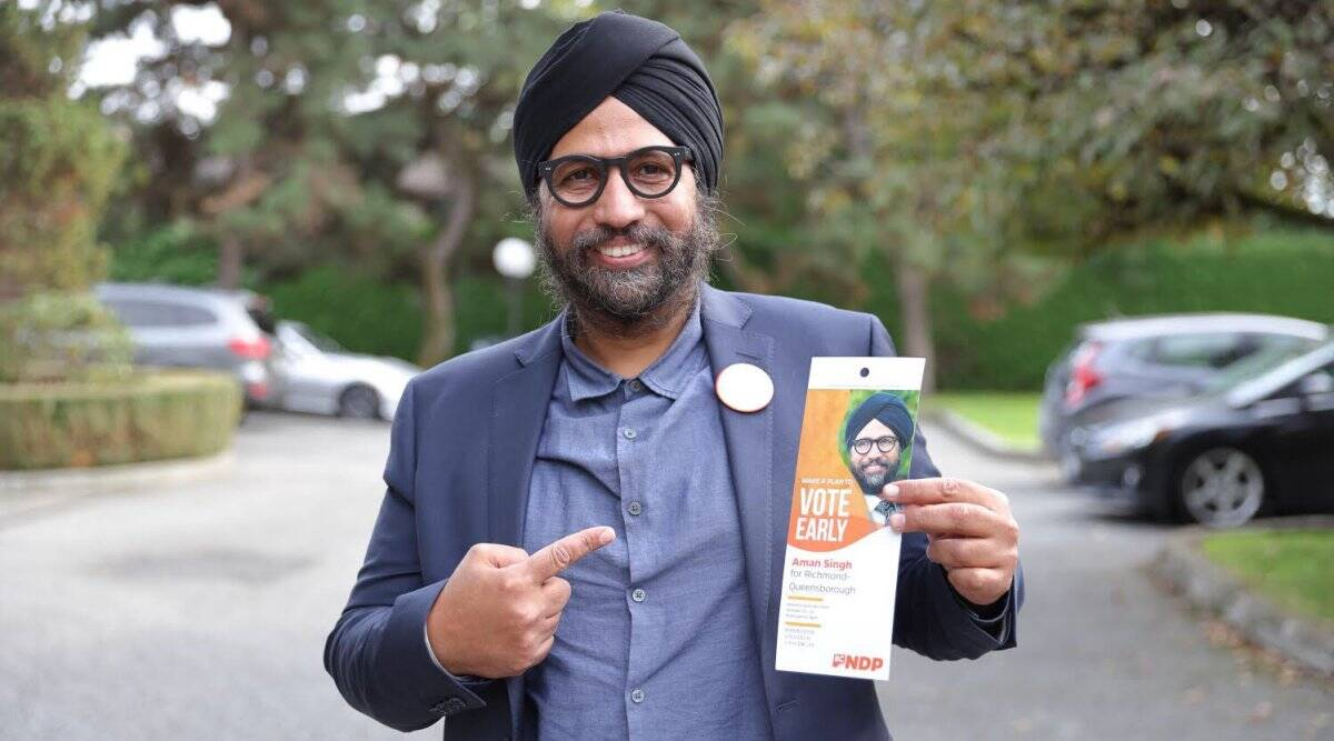Turbaned Sikh among 8 Indo-Canadian winners in British Columbia assembly polls