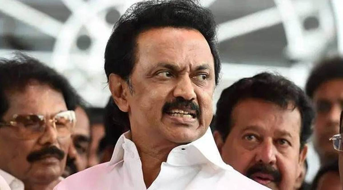 MK Stalin, Tamil Nadu assembly election, Tamil Nadu election campaign, Stalin Tamil Nadu election campaign, Stalin election campaign, Tamil Nadu election dmk campaign, indian express