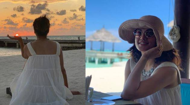 taapsee vacation photos