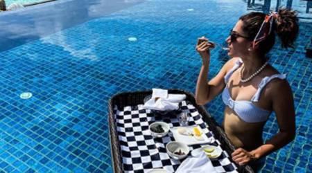 taapsee pannu, maldives, vacation, healthy diet