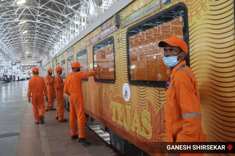 IRCTC, IRCTC Tejas Express trains, Tejas Express trains resume, Tejas Express services resume, Tejas Express, Tejas Express schedule, Tejas Express tickets, India news, Indian Express