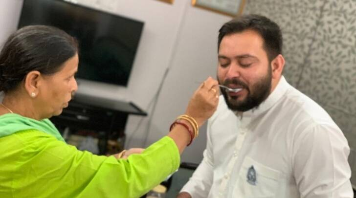 Bihar elections, Tejaswi Yadav, RJD, Mahagathbandhan, Tejashwi poll promises, tejashwi jobs, Nitish Kumar, Lalu Prasad Yadav, India news, Indian Express