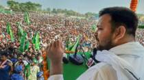 Campaigning for Round 1 ends; Tejashwi sets pace with 13 rallies on last day