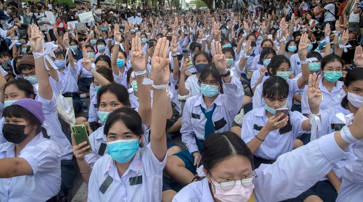 Thai student-protesters aim for ambitious political change