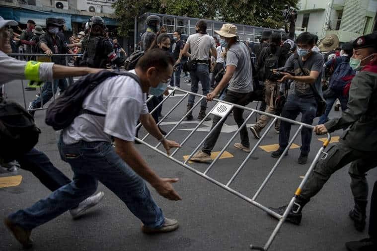 Thailand, Thailand protests, Thailand news, Thailand gatherings banned, Thailand PM Prayuth Chan-ocha, Indian Express