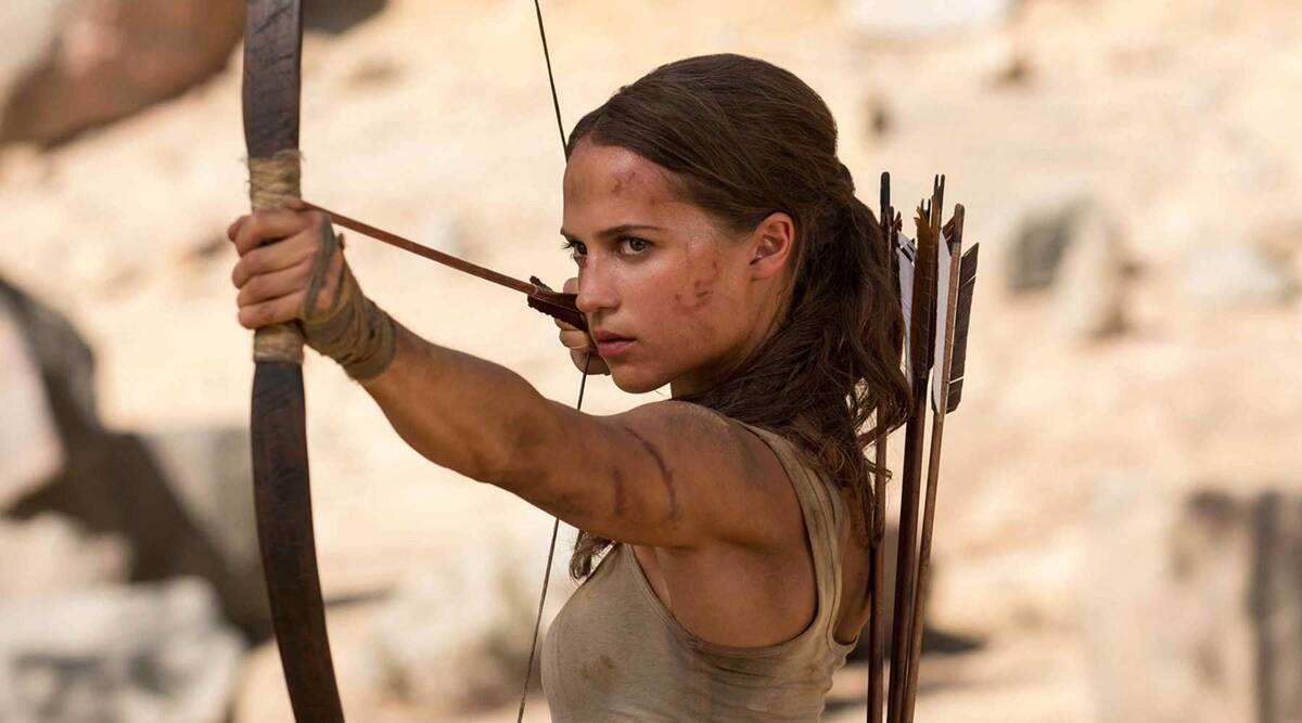 Alicia Vikander hopes to shoot Tomb Raider 2 in 2021 | Entertainment  News,The Indian Express