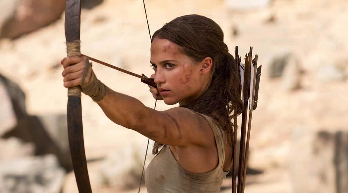 Tomb Raider , alicia vikander, alicia vikander tomb raider, tomb raider movie