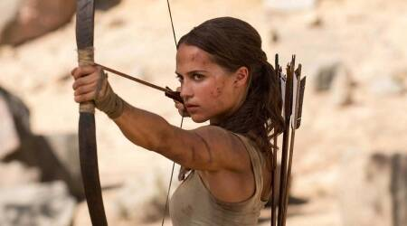 Tomb Raider , alicia vikander, alicia vikander tomb raider, tomb raider movie