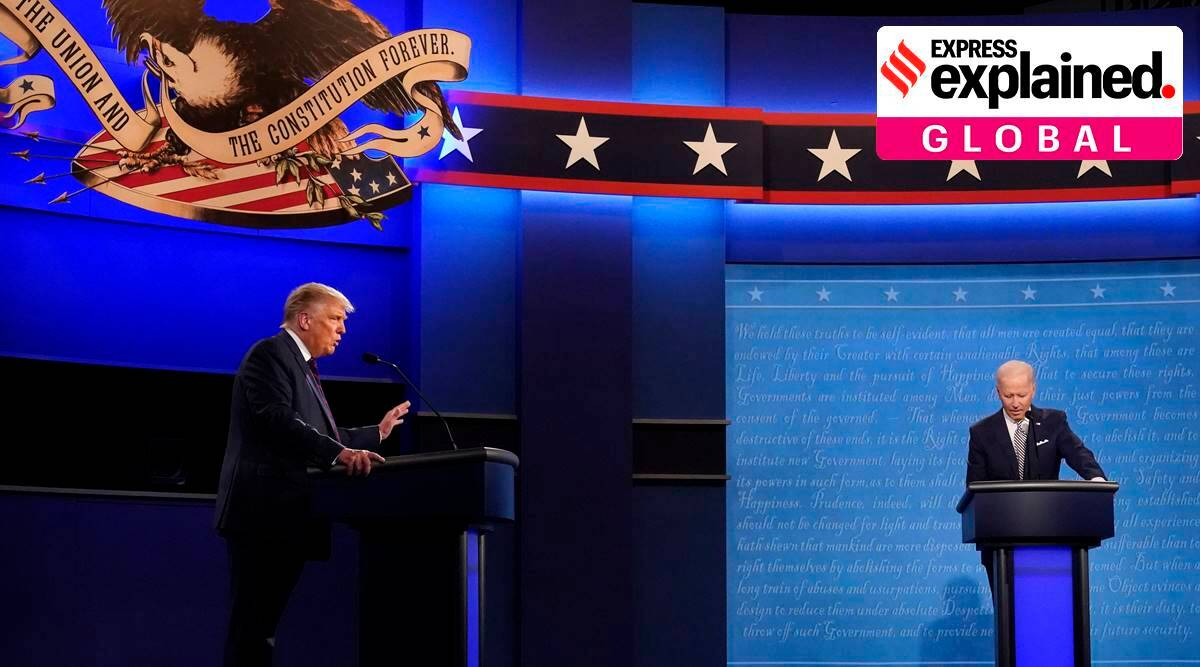 Explained: How important are US presidential and vice-presidential debates? - The Indian Express