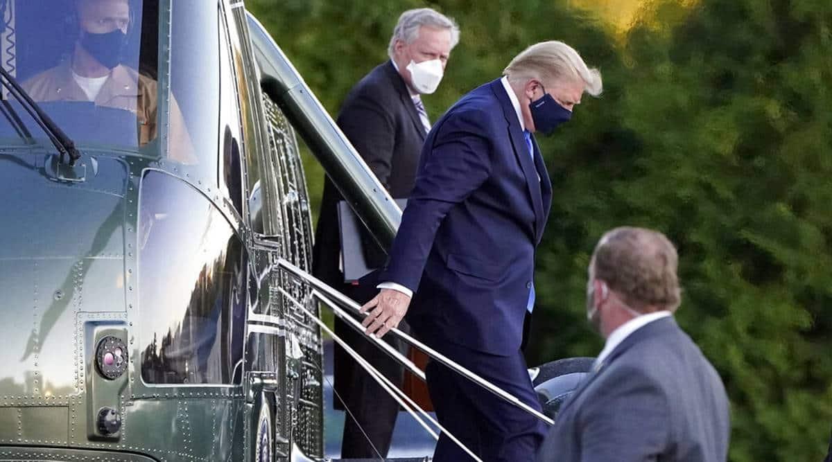 donald trump, donald trump coronavirus, donald trump hospitalised, donald trump covid-19, trump covid-19, US elections, donald trump news