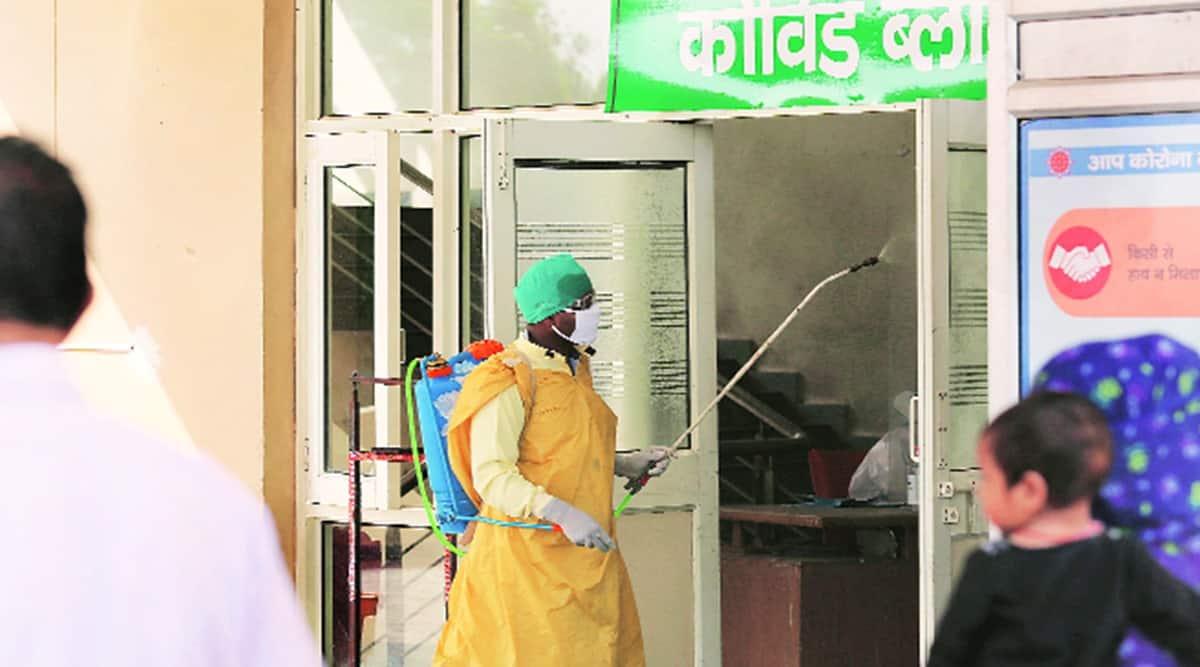 Chandigarh COVID-19 news, Chandigarh coronavirus, Chandigarh active COVID-19 cases, Chandigarh vaccine, Chandigarh news, indian express