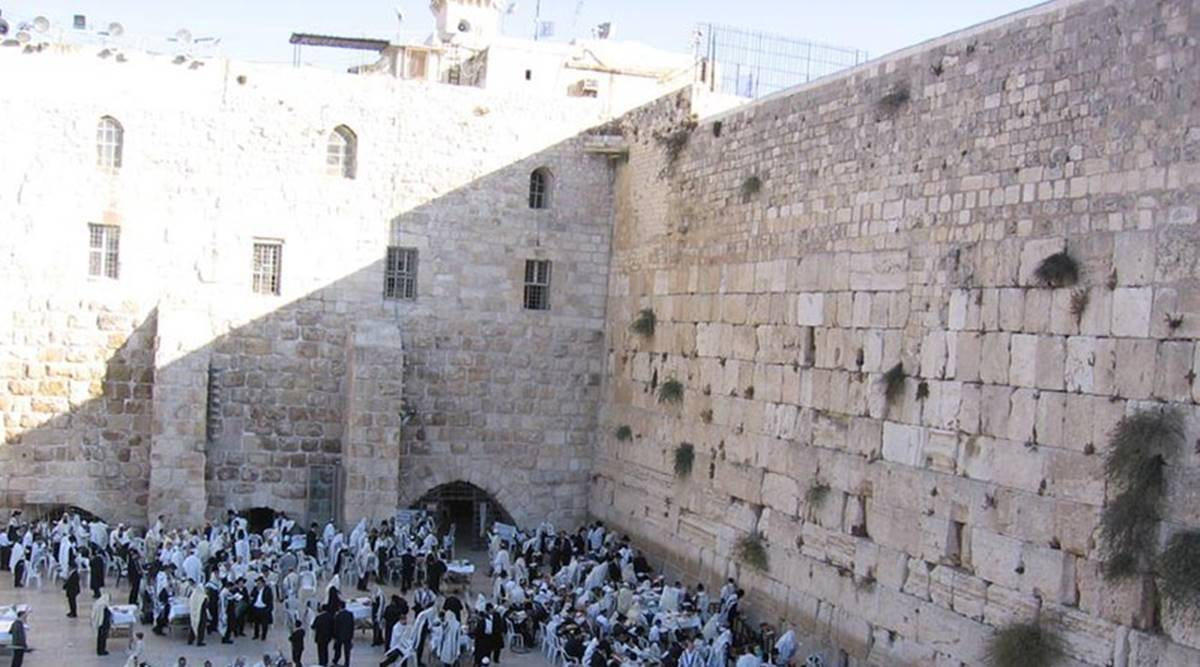 Israel is now allowing tourists to write digital prayers on Western Wall | Lifestyle News,The Indian Express