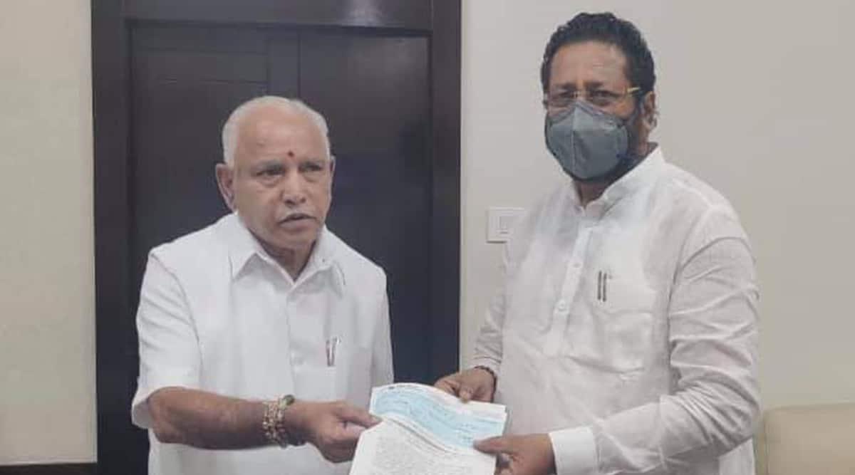 Basanagouda Patil Yatnal, Basanagouda Patil Yatnal on BS Yediyurappa, Basanagouda Patil Yatnal on Karnataka CM, Yediyurappa, India news, Indian Express