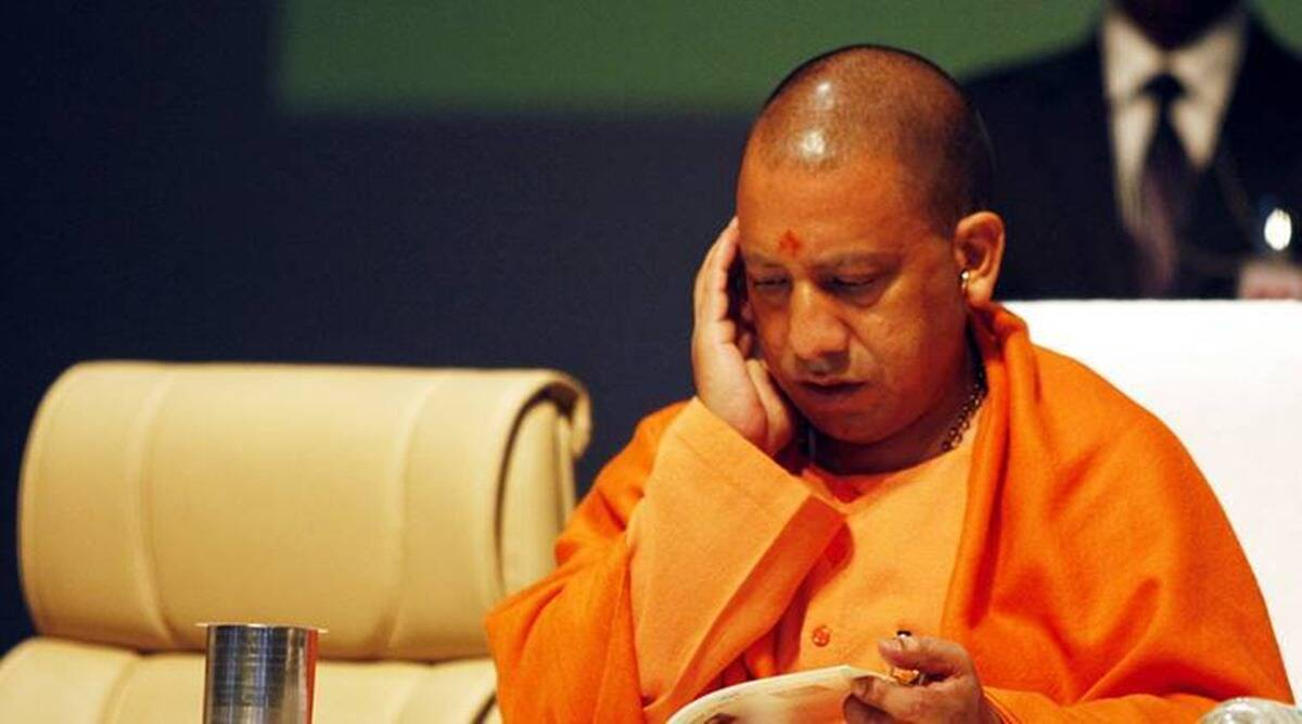 Yogi Adityanath, Uttar Pradesh Basic Education Board, uttar pradesh assistant teachers, up assistant teachers appointment letter, yogi adityanath hands over appointment letters to teachers, up news, indian express news