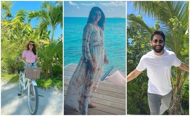 11 photos from Samantha Akkineni and Naga Chaitanya Maldives vacation