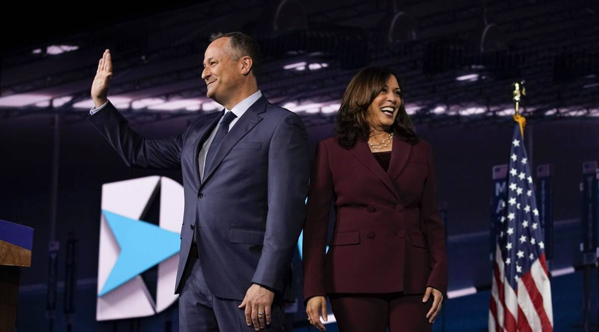 Kamala Harris Gives America A Second Family Full Of Firsts World News The Indian Express