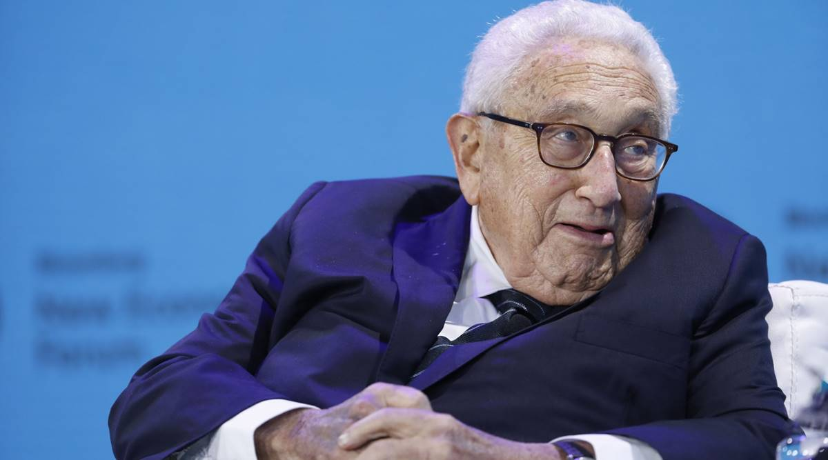 Kissinger warns Biden of US-China catastrophe on scale of WWI - The Indian Express