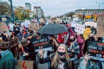 Polish police attempts to block protest against abortion ruling