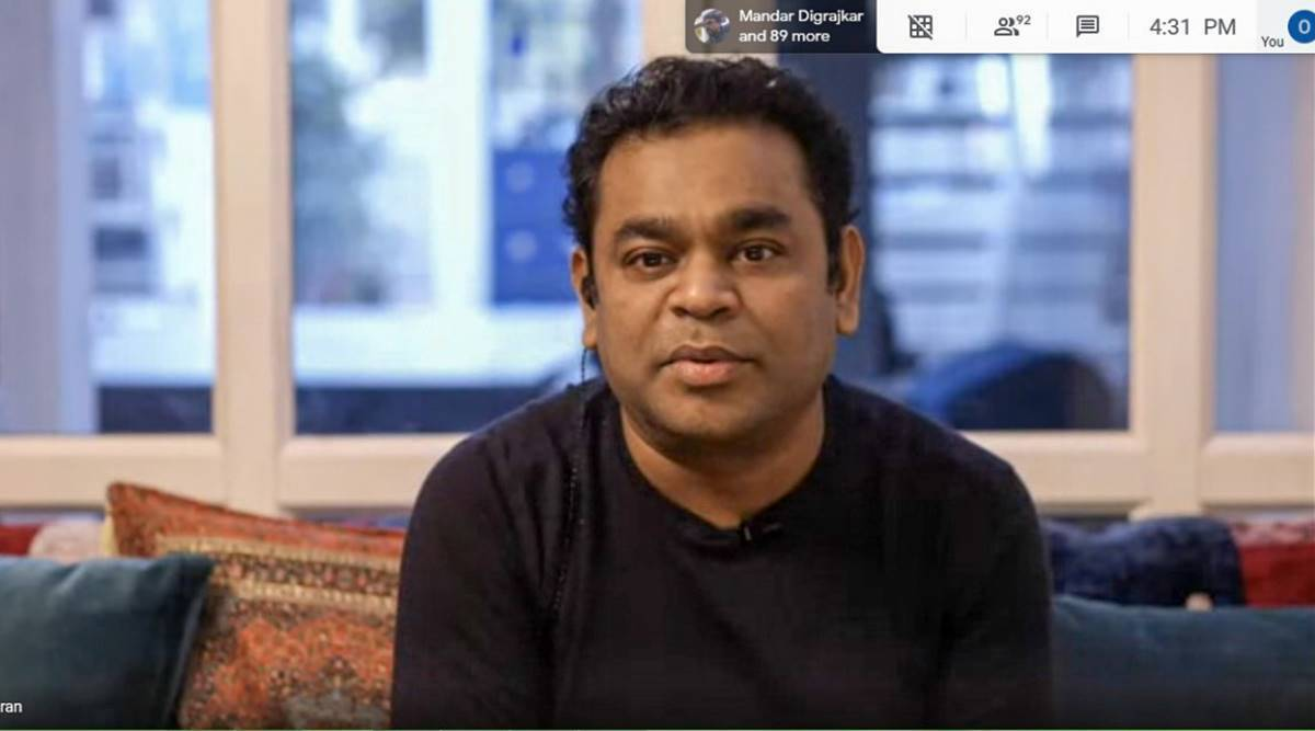 AR Rahman, motivation, Indian express news