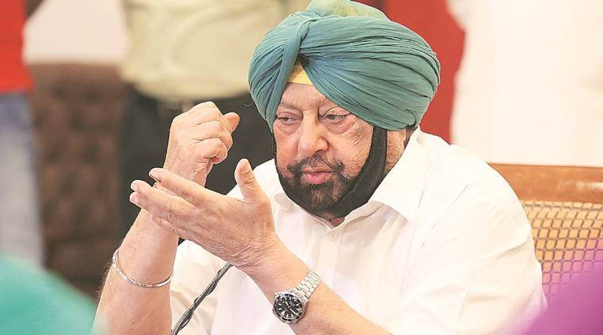 Capt Amarinder Singh, Amit Shah, Punjab goods train suspension, Punjab farmers protest, rail roko agitation, Chandigarh news, Punjab news, Indian express news