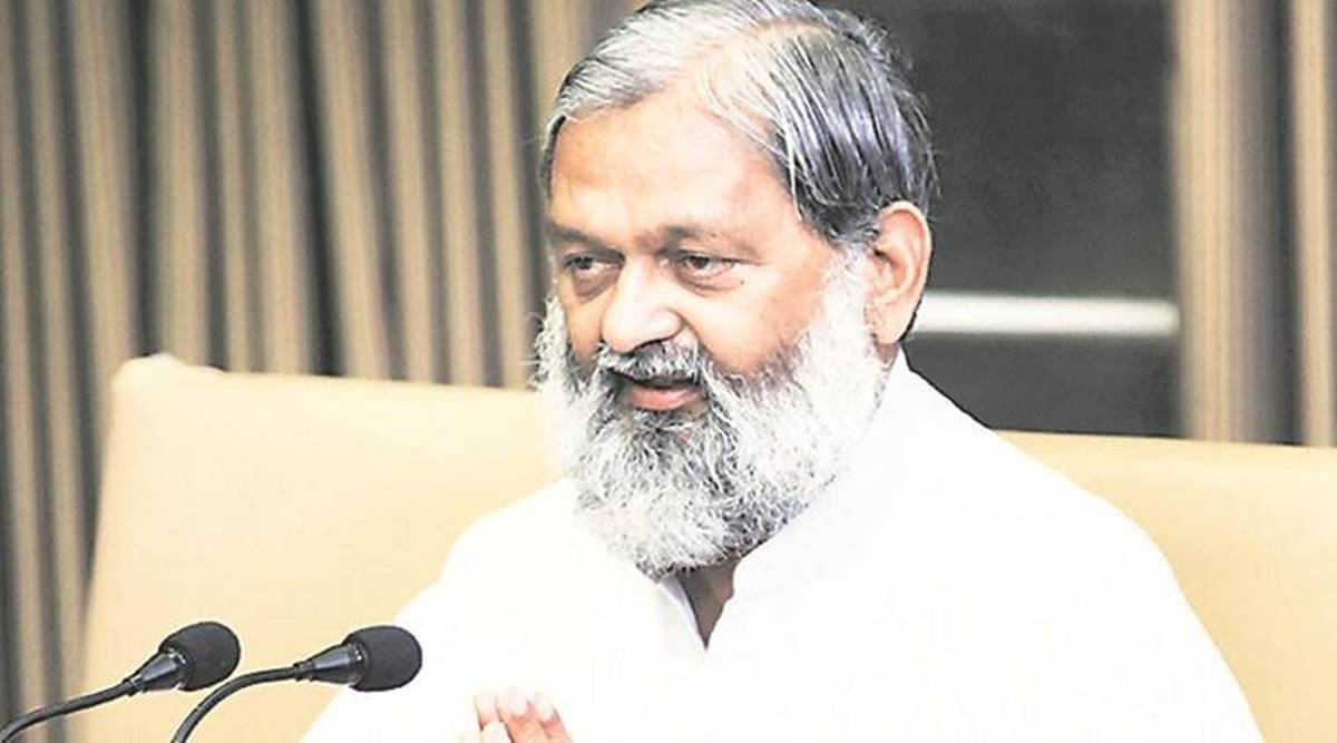 My job is to ensure that people get justice, says Anil Vij | Cities News,The Indian Express