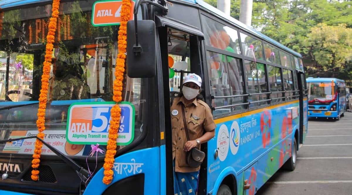 PMPML buses, PMPML atal bus services, PMPML atal bus service route, pune buses, pune city news