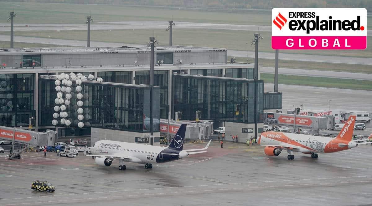 Europe lockdown, international air travel, international air travel explained, coronavirus lockdown, France, Germany, Belgium, Lufthansa, express explained, world news