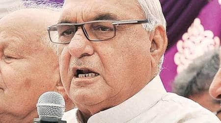 Bhupinder Singh Hooda, Haryana farmers protest, Haryana CM, MSP, CHandigarh news, Haryana news, Indian express news