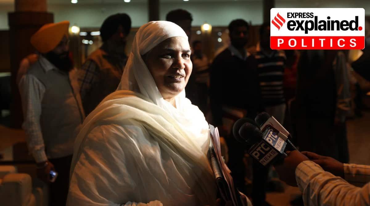 Bibi Jagir Kaur, sgpc bibi jagir kaur, Dera Baba Prem Singh Murale Wale, Akal Takht punjab, Indian Express