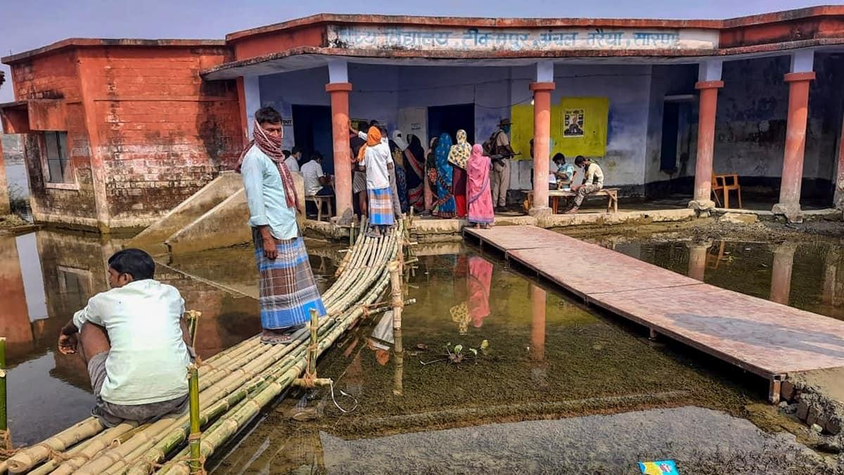 Govindpur bihar elections, Govindpur bihar, Govindpur bihar polls, Govindpur bihar floods, bihar floods Govindpur, Govindpur bihar news