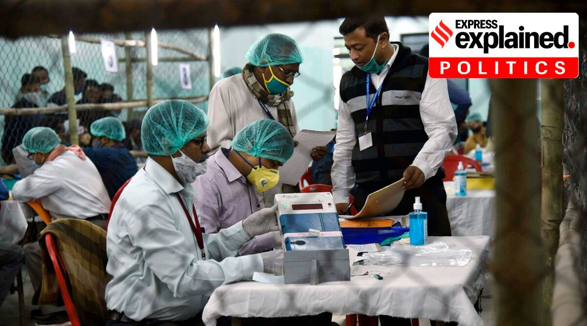 bihar election result, bihar election results, counting of votes, evms, bihar election and covid, coronavirus pandemic, Bihar Election result covid impact, indian express news