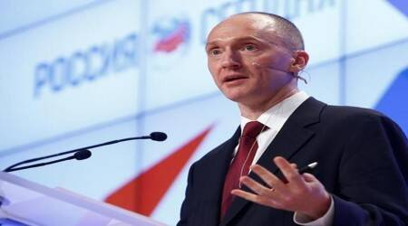 Former Trump Campaign associate Carter Page.