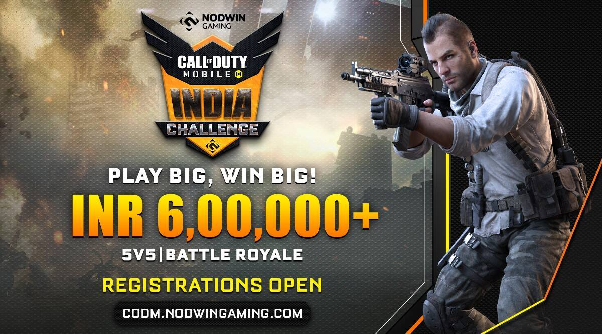 Call of Duty Mobile India Challenge 2020, Call of Duty Mobile, Call of Duty Mobile tournament, NODWIN, Call of Duty Mobile game, Call of Duty Mobile competition