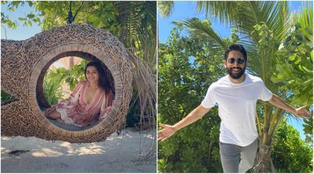 samantha akkineni and naga chaitanya in maldives