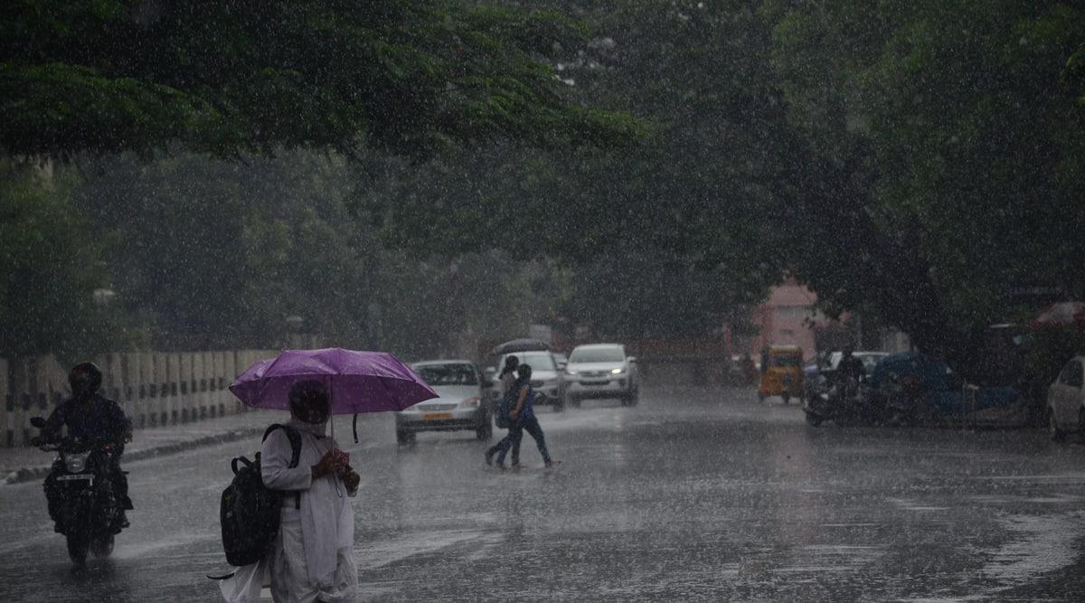 Chennai rain, rain in Chennai, Chennai rainfall