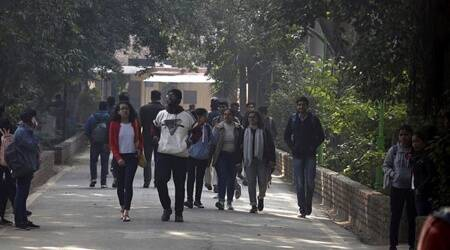 In second round of open book exams, most Delhi University students opt for online over offline mode