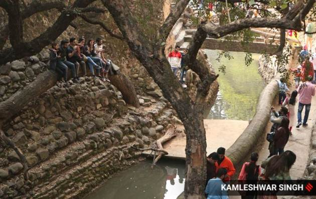 Rock Garden, Rock Garden in Chandigarh, visiting the Rock Garden, Rock Garden in pandemic, Rock Garden welcomes tourists, Express Wanderlust, Indian Express news