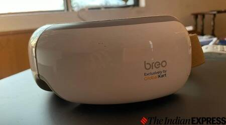 iSee4, eye massager, Breo, eye massager review,