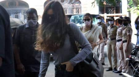Gabriella Demetriades, Gabriella Demetriades questioned, ncb drug case, ncb drug case arjun rampal, arjun rampal drug case, arjun rampal girlfriend drug case, mumbai news, indian express