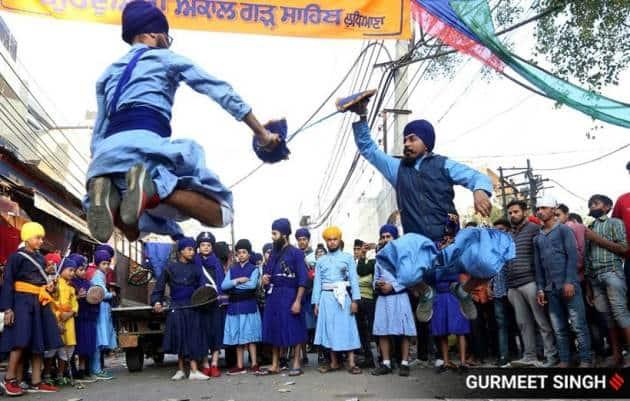 Gurpurab 2020, Gurpurab 2020 celebrations, Guru Nanak Jayanti celebrations, Guru Nanak Jayanti 2020 pictures, Gurpurab 2020 pictures, indian express news