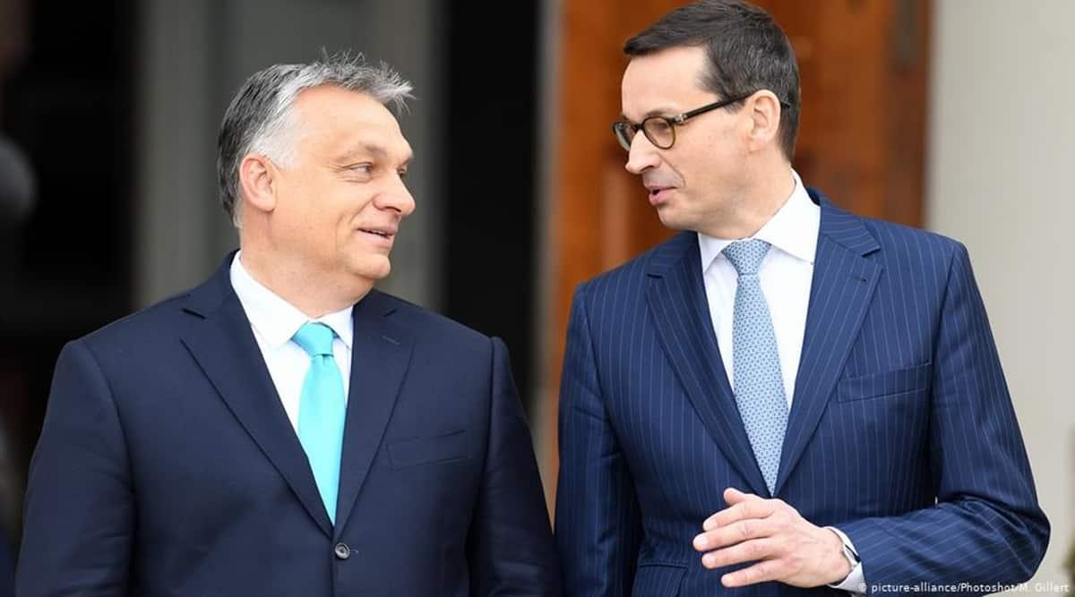 Victor Orban, Mateusz Morawiecki, Hungary Prime Minister, Poland Prime Minister