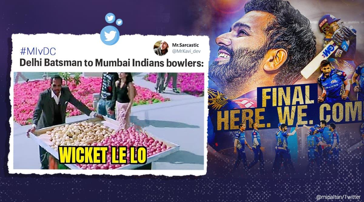 2020 ILP, IPL playoff, Mumbai Indians vs Delhi capitals memes, mi vs dc, dc vs mi, ipl playoff score, IPL playoff memes, mi vs dc qualifiers, MI finals, mi vs dc reactions, mi vs dc qualifiers memes, Trending news, sports news, Indian Express news