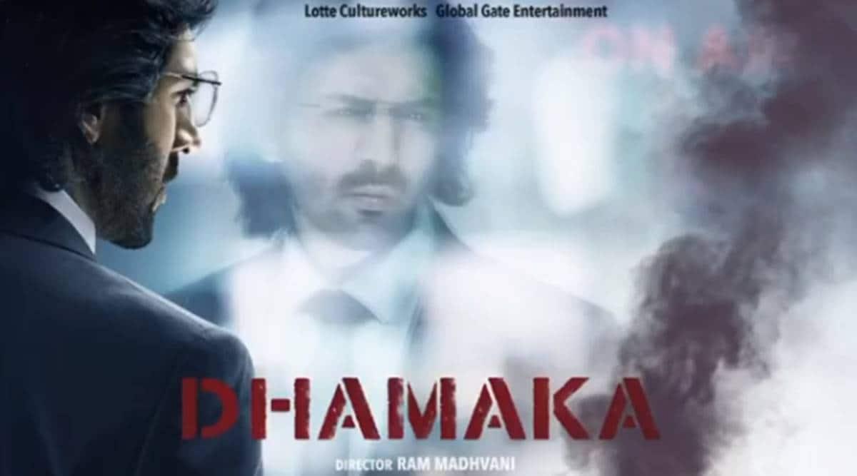 kartik aaryan film dhamaka